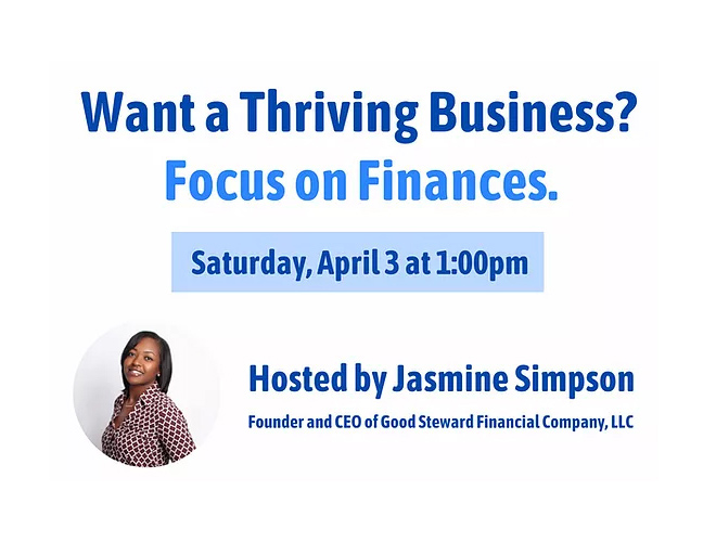 Want a Thriving Business? Focus on Finances